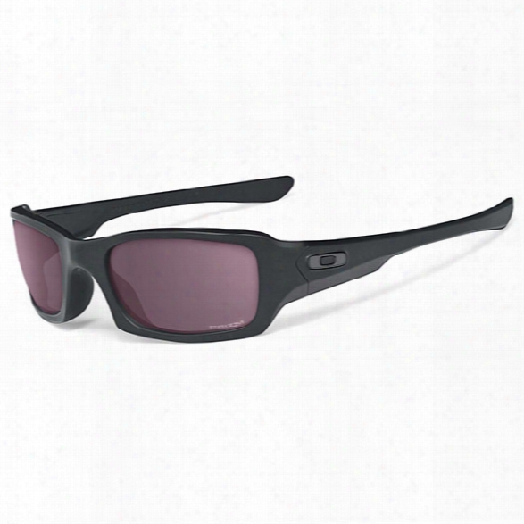 Oakley Prizm Fives Squared, Matte Black / Tr 22 - Blue - Male - Included