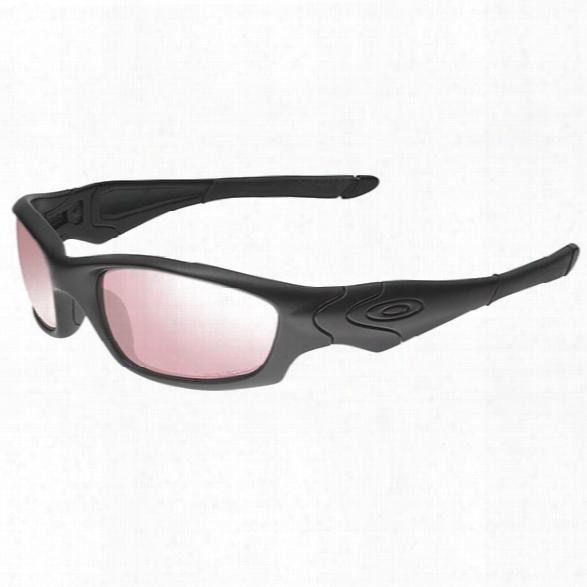 Oakley Prizm Straight Jacket, Matte Black / Tr 45 Iridium - Black - Male - Included