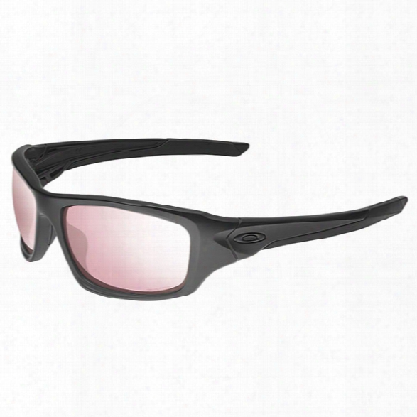 Oakley Prizm Valve, Matte Black / Tr 45 Iridium - Blue - Male - Included
