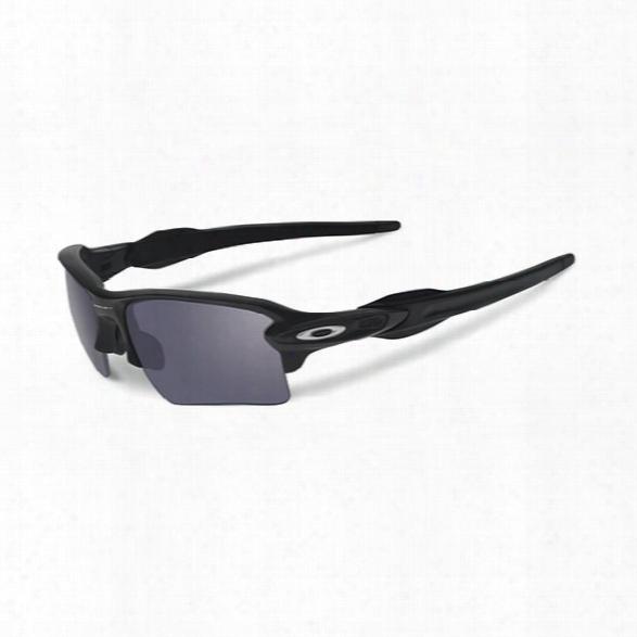 Oakley Si Flak Jacket 2.0 - Matte Black / Grey - Black - Male - Included