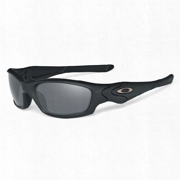Oakley Straight Jacket Sunglasses - Clear - Male - Included