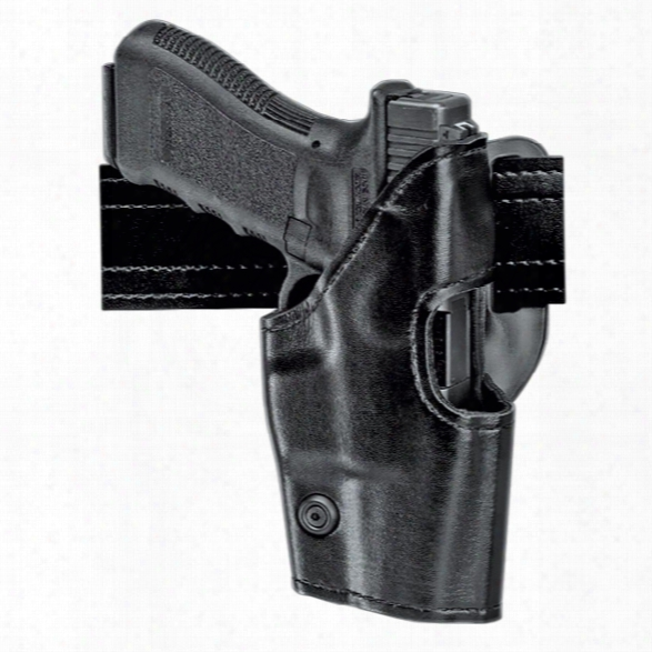 "Safariland 295 Duty Holster Mid-ride Level Ii Nylon Look Rh Glock 20 21 4.6"" Bbl 29 30 3.78"" Bbl - Black - Male - Included"