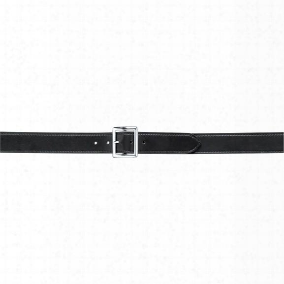 "Safariland 51 Garrison Duty Belt 1.75"" Plain Black Chrome Buckle 24"" - Chrome - Unisex - Included"