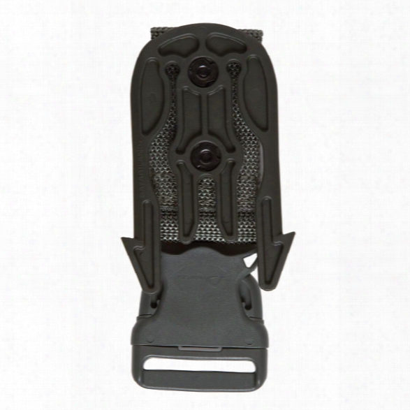 Safariland 6005-23 Mls Accessory Fork On Quick Release Leg Strap W/mls 16 Stx Plain Black - Black - Unisex - Included