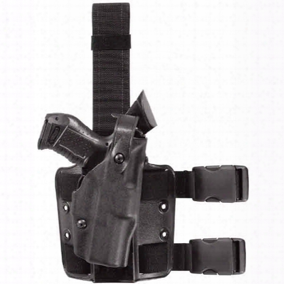 "Safariland 6304 Tactical Holster Stx Tactical Rh S&w M&p 9mm 40 Cak 4.5"" Bbl M&p 9c 3.375"" Bbl - Black - Unisex - Included"
