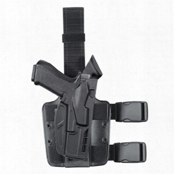 "Safariland 7354 7ts Als Tactical Holster, Plain Black, Rh, Fits S&w M&p 9mm, .40, 4.25"" Bbl - Black - Unisex - Included"