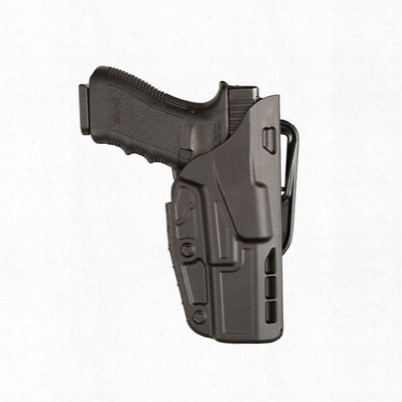 Safariland 7377 7ts Concealment Holster, Black, Rh, Glock 26 27 - Clear - Male - Included
