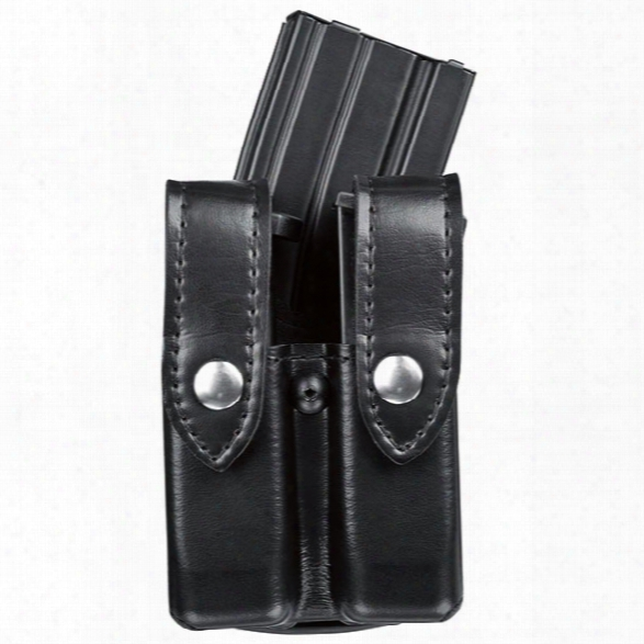 Safariland 74 Handgun And Rifle Combo Mag Pouch, Stx Tactical, Black Snap, Fits Glock 20, 21 - Black - Male - Included