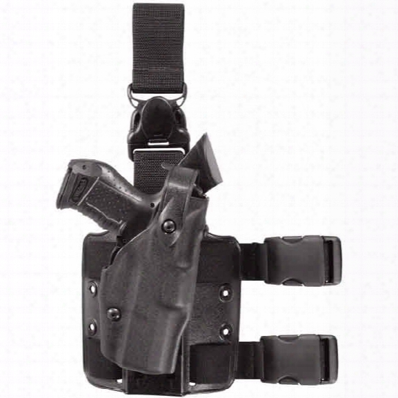 Safariland Als Tactical Holster W/ Quick-release Detachable Harness, Black, S&w M&p, Right-handed - Black - Unisex - Included
