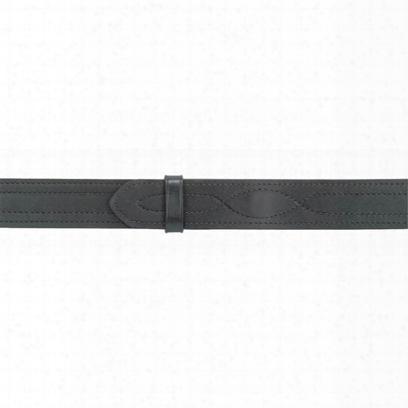 "Safariland Buckleless Outer Belt W/ Hook And Loop System, Black, 24"", Plain Black - Black - Unisex - Included"
