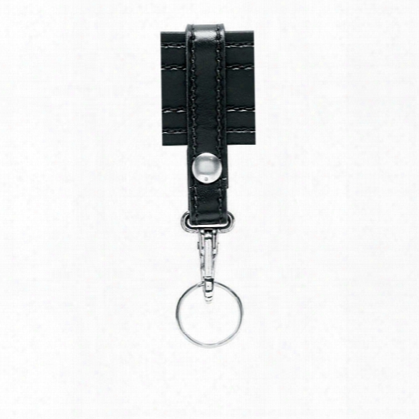 Safariland Key Ring, Black, Plain Black, 1 Snap Chrome Snap - Black - Unisex - Included
