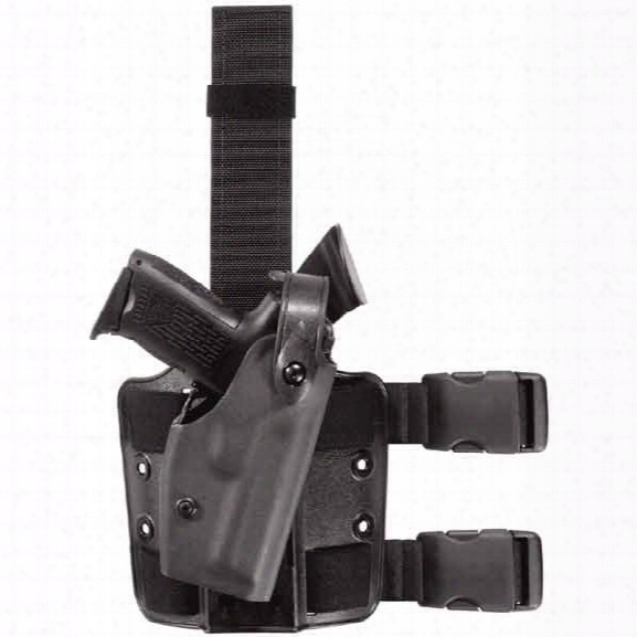 Safariland Sls Tactical Holster, Level 2, Black, Right-handed, Glock 19 23 26 27 - Black - Unisex - Included