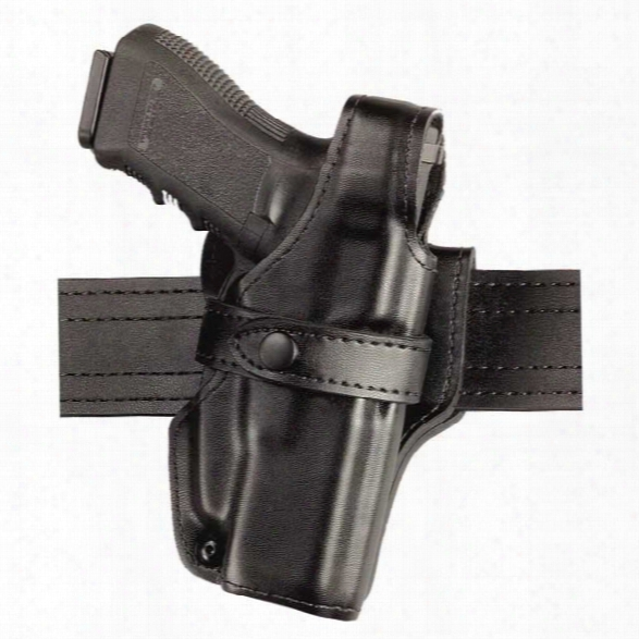 Safariland Ssiii Mid-ride Duty Holster, Retention, Level 3, Black, Plain Black, Right-handed, Glock 17 22 19 23 - Black - Unisex - Included
