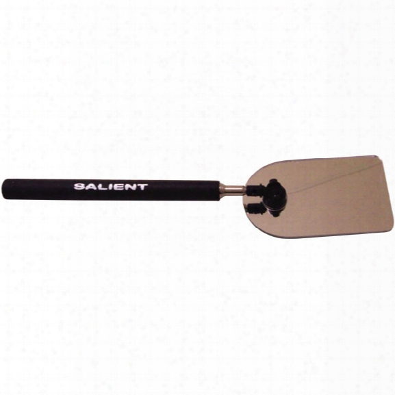 """Salient Search Buddy Mirror, 2-1/4"""" X 3-1/2"""" (pole Extends To 35-1/2"""") - Unisex - Included"""