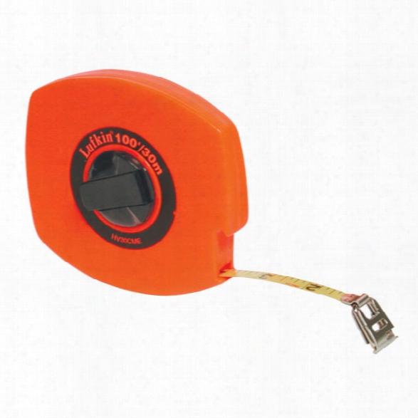 Sirchie Tape Measure Steel Manual 100ft - Orange - Male - Included