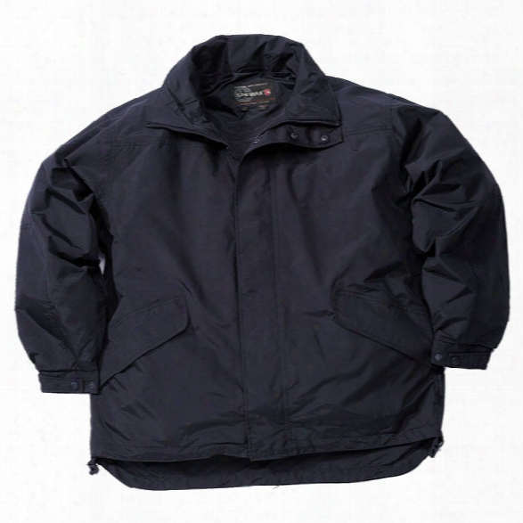 Spiewak Tritel Waterproof Parka, Dark Navy, 2x-large Long - Blue - Male - Included