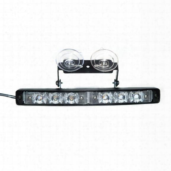 Star Headlight Starburst Mini-phantom® Undercover Dash Light, Synchronizable, Amber - Blue - Male - Included