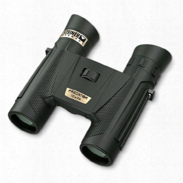 Steiner Predatod 10x26 Hunting Binocular-  Black - Male - Included
