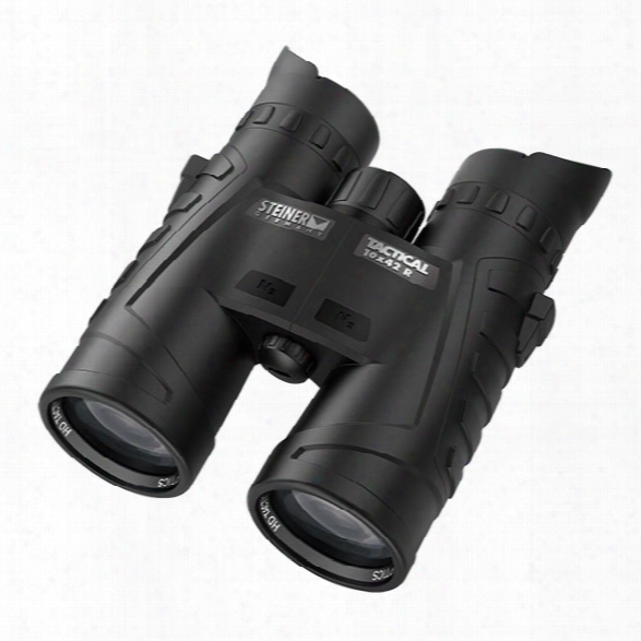 Steiner T1042r 10x42 Tactical Binocular W/ Sumr Targeting Reticle System - Male - Included