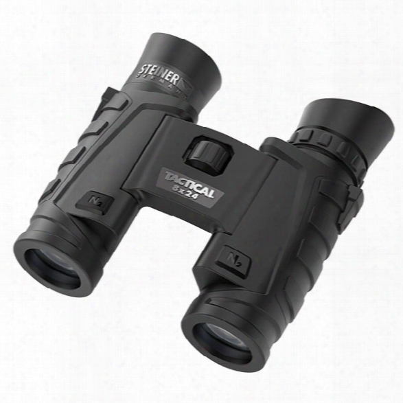Steiner T824 8x24 Tactical Binocular - Male - Included