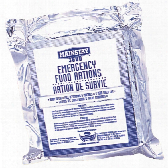 Survivor Industries Emergency Food Rations (single Pack) - Unisex - Included