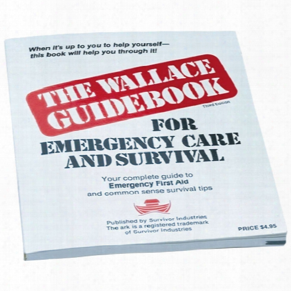 Survivor Industries The Wallace Guidebook For Emergency First Aid And Survival - Unisex - Included