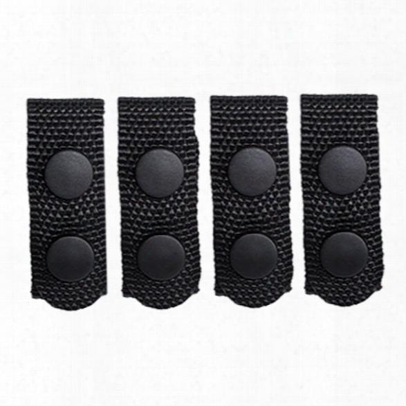 Tact Squad Belt Keepers (4) - Black -u Nisex - Included