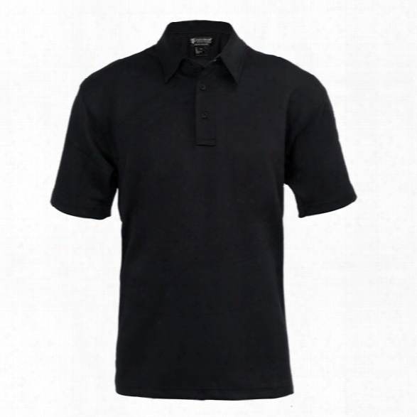 Tact Squad Tactpro 2.0 Ss Polo, Black, 2x-large - Black - Male - Included