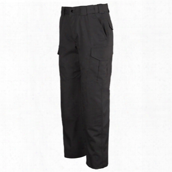 Tact Squad Women's Tactical Trouses, Black, 10 Unhemmed - Black - Female - Included