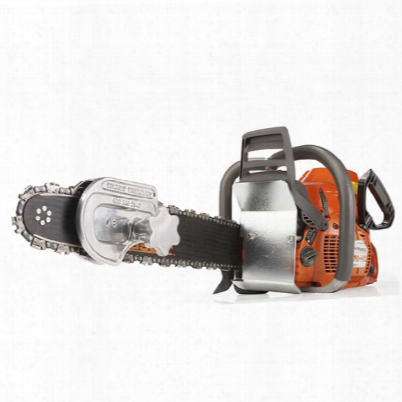 "Tempest Technology 365hd Ventmaster Fire Rescue Saw, 16"", 4.9 Hp, 0.404 Chain W/ Depth Gauge - Smoke - Male - Included"