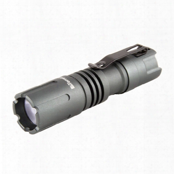 Terralux Lightstar 100, Tri-mode, Hi 150/lo 50/strobe Led, 1 Aa, Grey - Grey - Male - Included