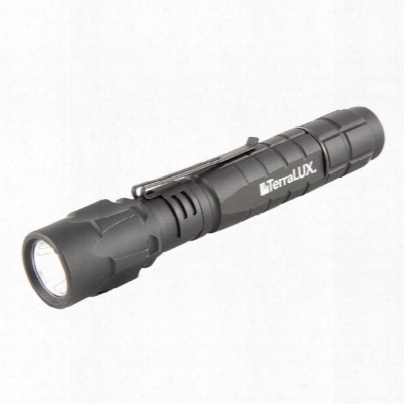 Terralux Lightstar 180, 180 Lumens, Led, 2 Aa, Black - Black - Male - Included