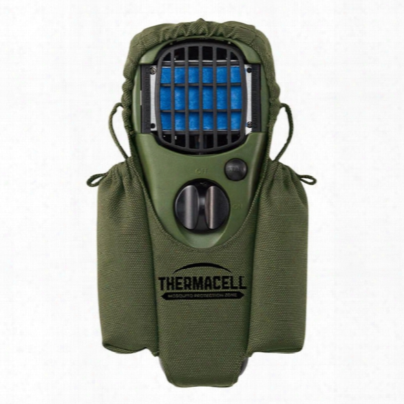 Thermacell Holster Accessory W/ Clip For Mosquito Repellent Appliance, Olive - Green - Unisex - Included