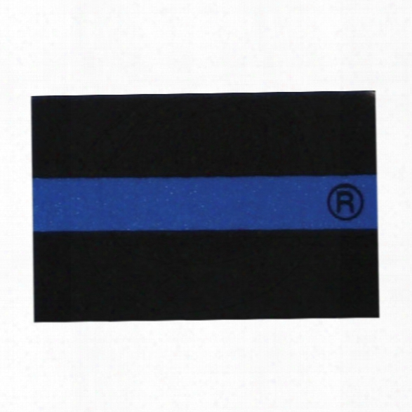 Thin Blue Line Large Sticker - Blue - Male - Included
