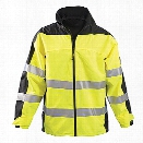 Occunomix Class 3 Speed Collection Premium Rain Jacket, Yellow, 2X-Large - Yellow - Unisex - Included