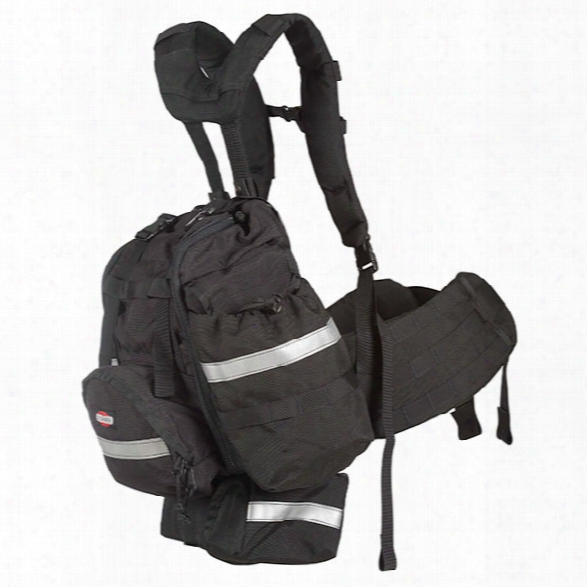 True North Frontline Bushwhacker Pack, Wildland, Standard, Black - Black - Male - Included