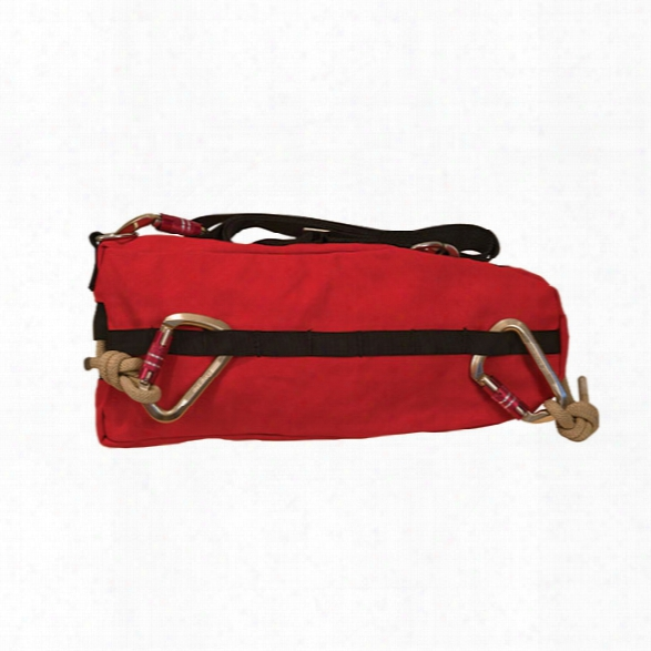 True North L-2 Search Rope Bag, 200', Red - Red - Male - Included