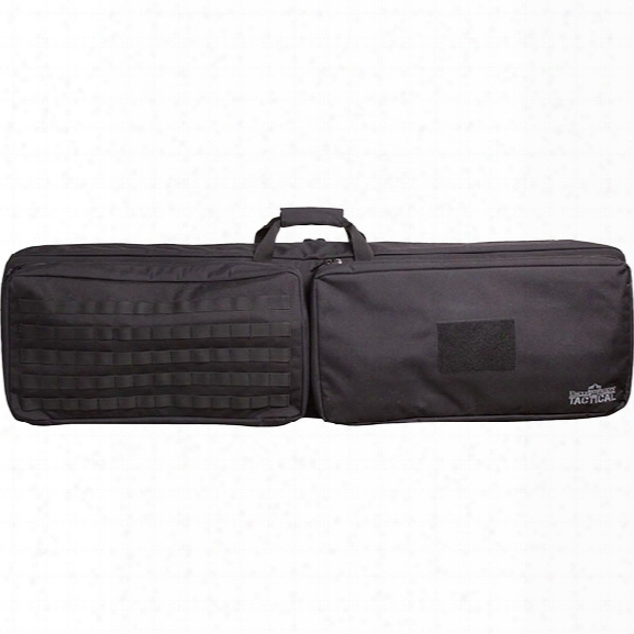 Uncle Mikes 3-gun Competition Bag, Black - Black - Male - Included