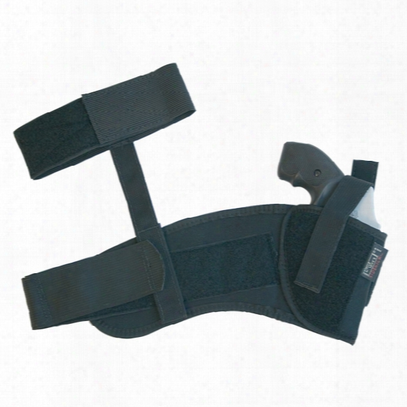 Uncle Mikes Ankle Holster W/retention Strap, Kodra, Rh, Small Autos (.22-.25 Caliber) - Male - Included