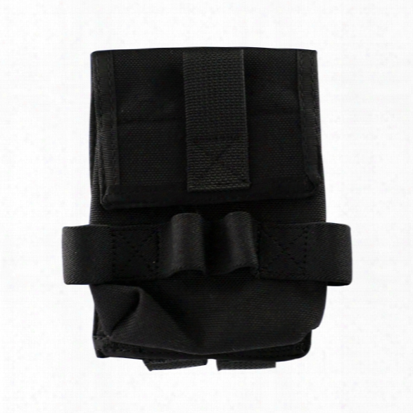 Uncle Mikes Double Cuff Pouch, Molle, Black - Black - Unisex - Included