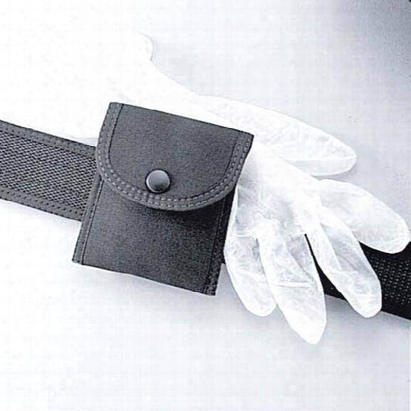 Uncle Mikes Glove Pouch, Cordura Nylon, Black - Black - Male - Included