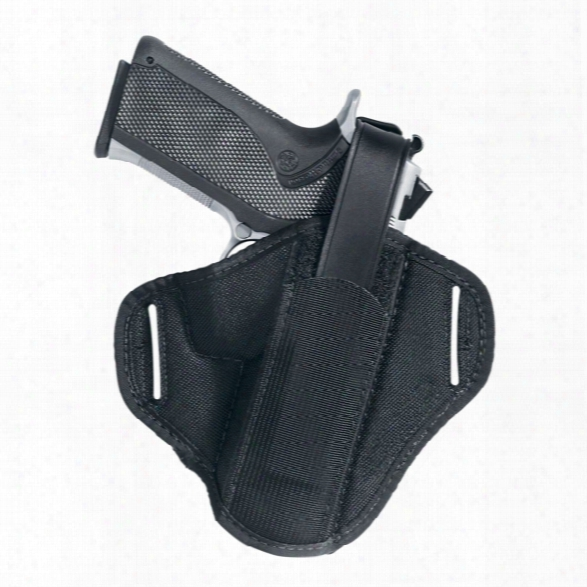 "Uncle Mikes Hiddenhammer Super Belt Slide Holster, Ambidextrous, 2""-3"" Bbl Small/medium Double Action Revolvers - Unisex - Included"