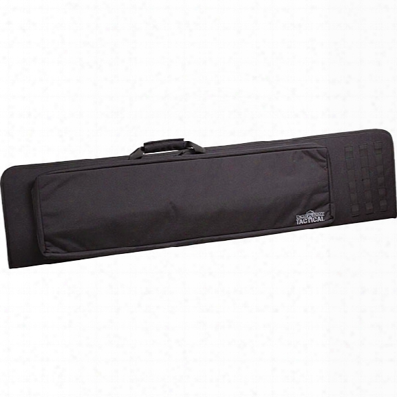 Uncle Mikes Long Range Tactical Bag, Black - Black - Unisex - Included