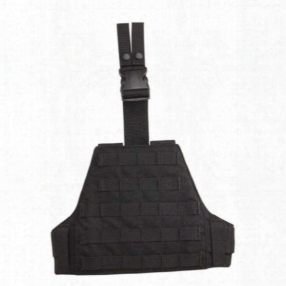 Uncle Mikes Modular Drop-leg Platform, Black - Black - Unisex - Included