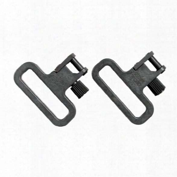 "Uncle Mikes Qd Ss Mim Mil-spec Swivels, 1 1/4"", Pk/2 - Unisex - Included"