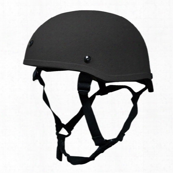 United Shield Spec Ops Level Iiia Helmet, Black, Large - Black - Male - Excluded