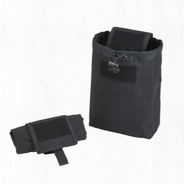 Us Peacekeeper Dump Pouch, Black - Black - Male - Included