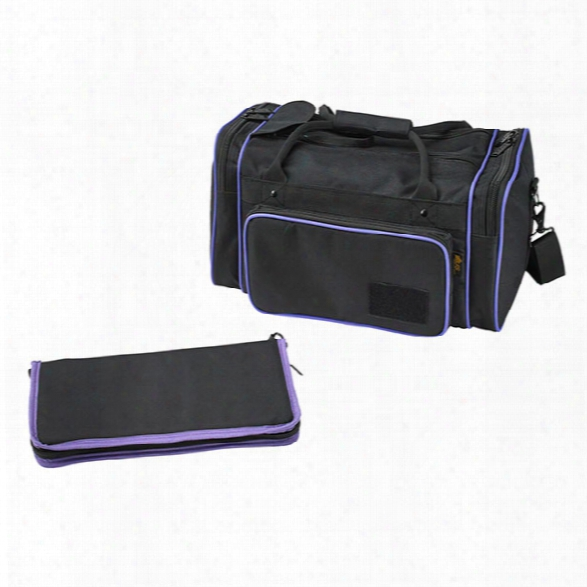 Us Peacekeeper Medium Range Bag, Black & Purple - Black - Unisex - Included