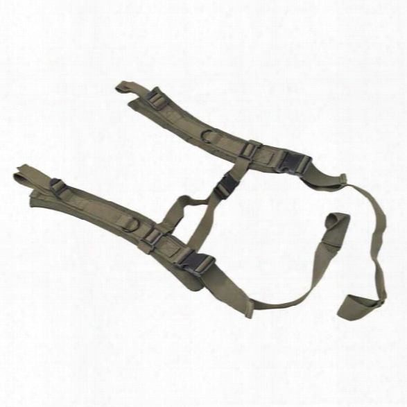 Us Peacekeeper Padded Backpack Straps, Od Green - Green - Unisex - Included