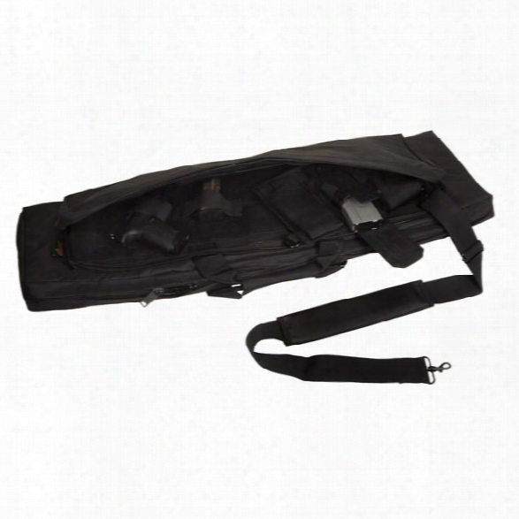 Us Peacekeeper Rat Rapid Assault Tactical Case, Black, 36-inch - Black - Male - Included